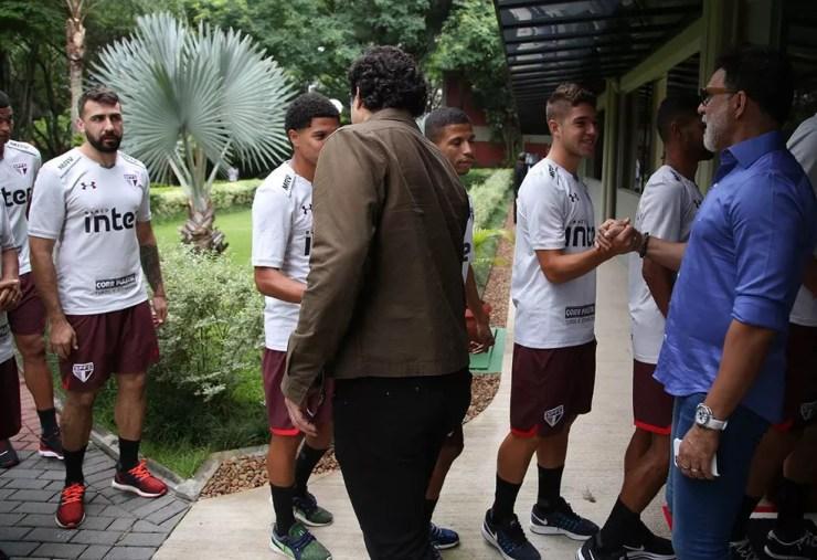 Pratto saiu do São Paulo no começo de 2018 — Foto: Divulgação
