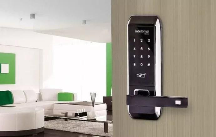 Fechaduras digitais trazem praticidade, conforto e segurança para a sua casa (Foto: Divulgação)
