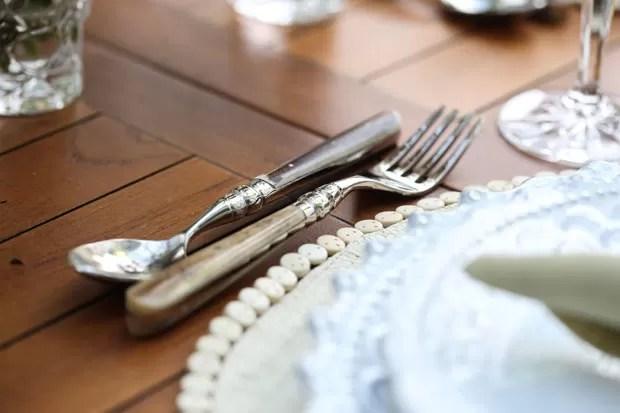 Almoço no jardim (Foto: Karen Hofstetter / Divulgação)
