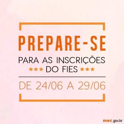 Inscrições do Fies de segundo semestre começam nesta sexta (24) e seguem até quarta-feira (29). (Foto: Divulgação/MEC)