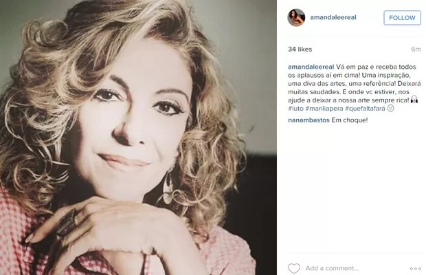 Amanda Lee (Foto: Instagram / Reprodução)