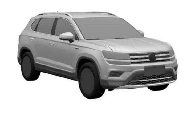 Volkswagen Tharu teve desenho registrado no INPI (Foto: Reprodução)