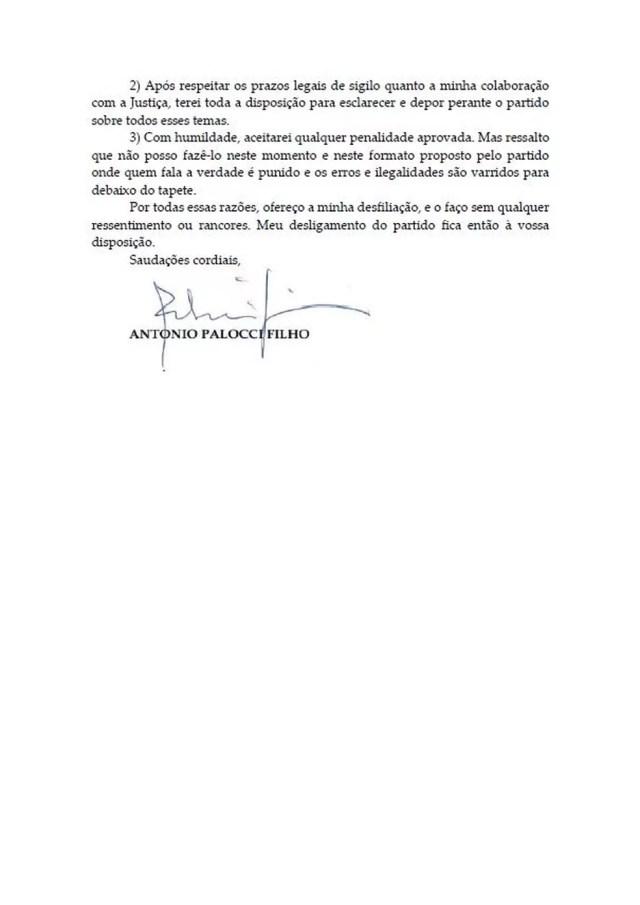 Carta Palocci 4 — Foto: Reprodução
