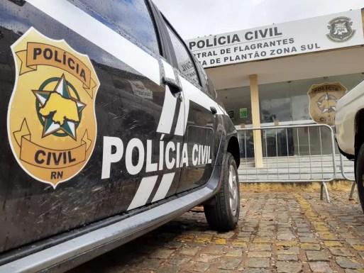 Polícia Civil do RN prende homem suspeito de praticar crime de estupro de vulnerável contra a neta de 11 anos — Foto: Sérgio Henrique Santos/Inter TV Cabugi