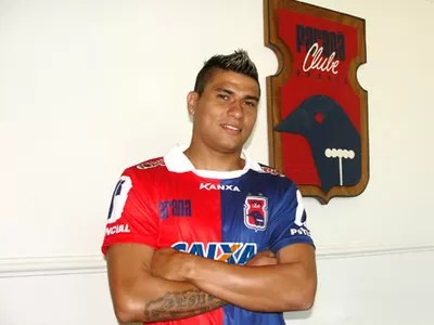 Paulinho foi apresentado nesta quarta-feira (Foto: Divulgação/Paraná Clube)