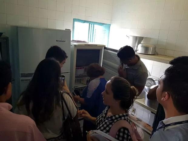 Estudantes foram a campo fiscalizar recursos federais destinados a escolas (Foto: Divulgação/Unacon)
