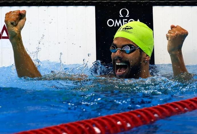 Andre Brasil natação (Foto: Getty Images)