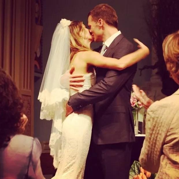 O clique postado por Tom Brady (Foto: Reprodução/ Instagram)
