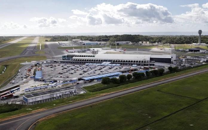 Aeroporto de Salvador. — Foto: Manu Dias/ Secom