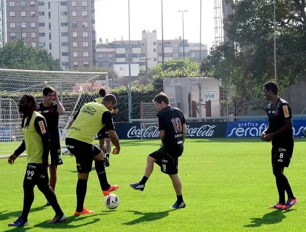 adriano flamengo treino (Foto: Janir Júnior / Globoesporte.com)