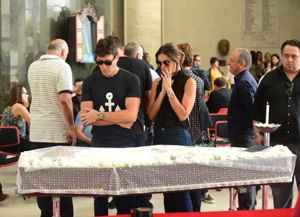 Rodrigo Faro e a esposa Vera Viel  (Foto: AG News)