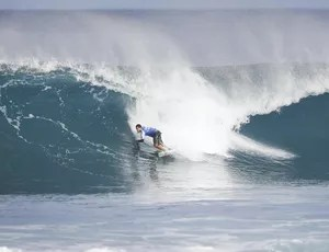 Adriano de Souza Mineirinho, Pipeline (Foto: WSL / Damien Poullenot)