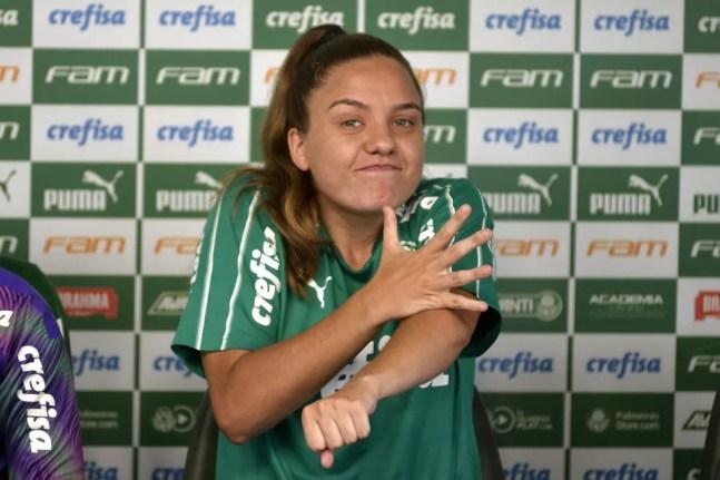Téfy deixou o Palmeiras com o fim da temporada 2020 — Foto: BRUNO ULIVIERI/AGIF/ESTADÃO CONTEÚDO