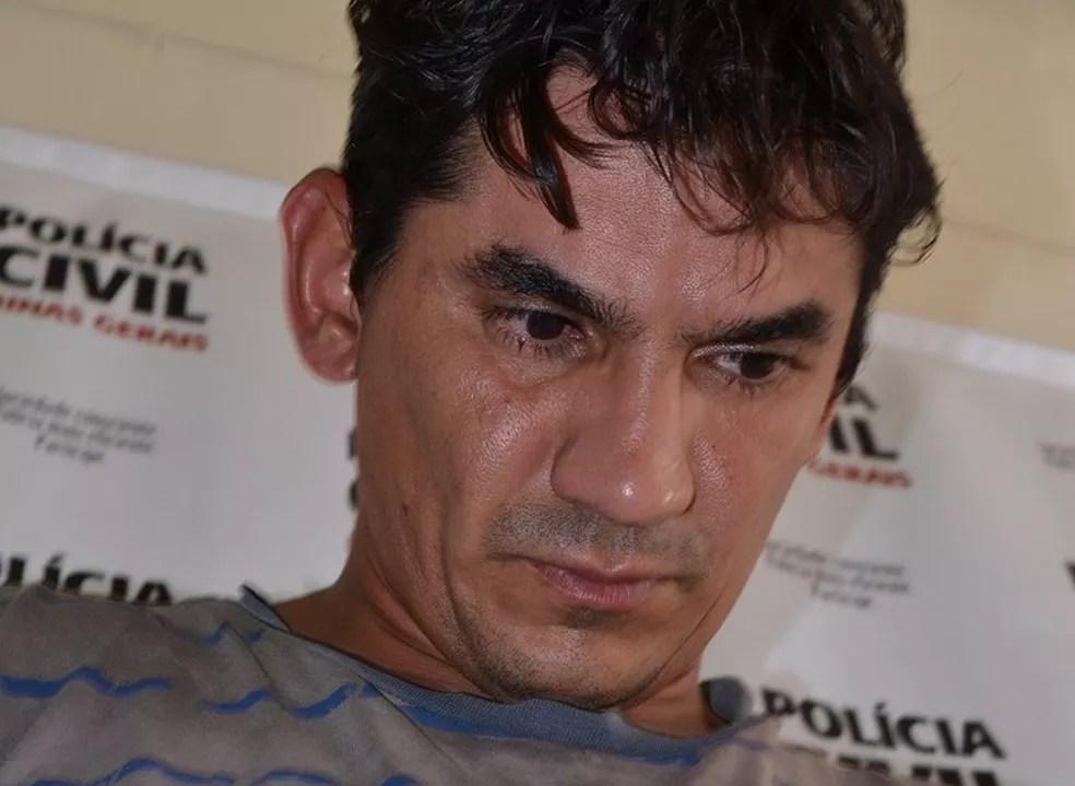 Jonathan Pereira do Prado, indiciado pela morte da jovem, está preso (Foto: Samir Alouan/Rádio 97 FM/Pontal Online)