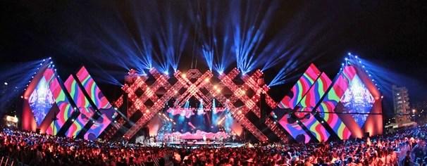 A Globo gravou os shows do festival Villa Mix Goiânia, em outubro, e leva até você no dia 8 de outubro (Foto: João Luiz/Globo)