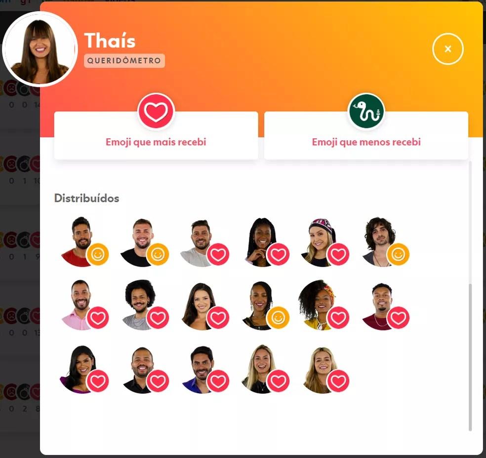 Thaís — Foto: Globo