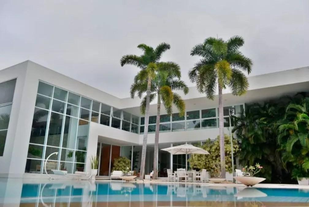 Mansão de Xuxa  — Foto: Reprodução/Sotheby's Internacional Realty Exclusive