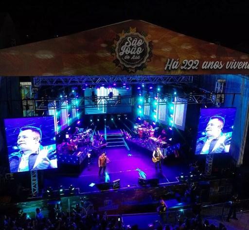 Dupla se apresentou neste sábado em Assu (Foto: Bruno Andrade)