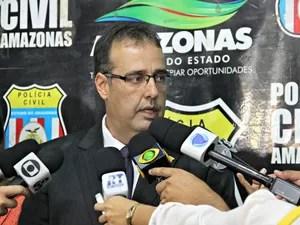 Delegado falou sobre o caso na manhã desta terça-feira (27) (Foto: Suelen Gonçalves/G1 AM)