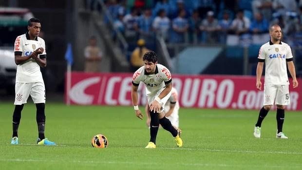 Pato Grêmio x Corinthians (Foto: Jefferson Bernardes/VIPCOMM)