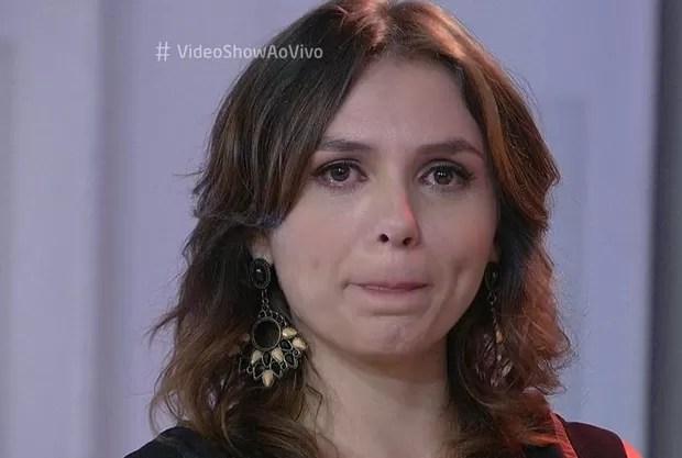 Monica Iozzi se emociona em despedida do  Vídeo Show . – Online f710202e1e941