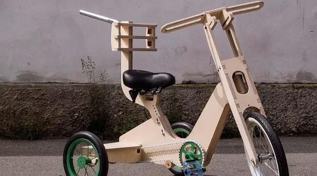 A bicicleta feita pela Opendot é ajustável (Foto: Reprodução/Opendot)