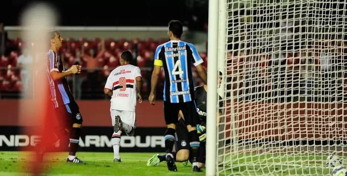 São Paulo x Grêmio (Foto: Marcos Ribolli)