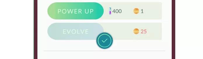 Evolve é o comando para evoluir o bichinho em Pokémon GO (Foto: Reprodução/Thiago Barros)