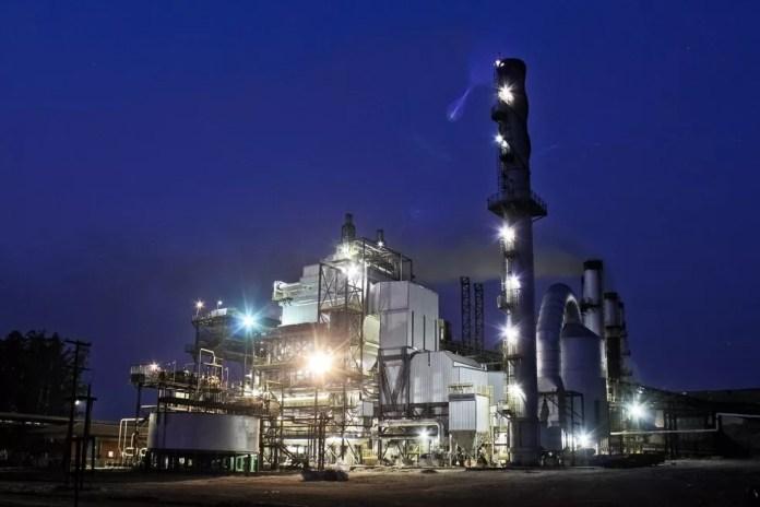 Usina Cruz Alta, do Grupo Tereos, é exportadora de energia elétrica gerada a partir da biomassa da cana-de-açúcar (Foto: Ferdinando Ramos/Divulgação/Arquivo)