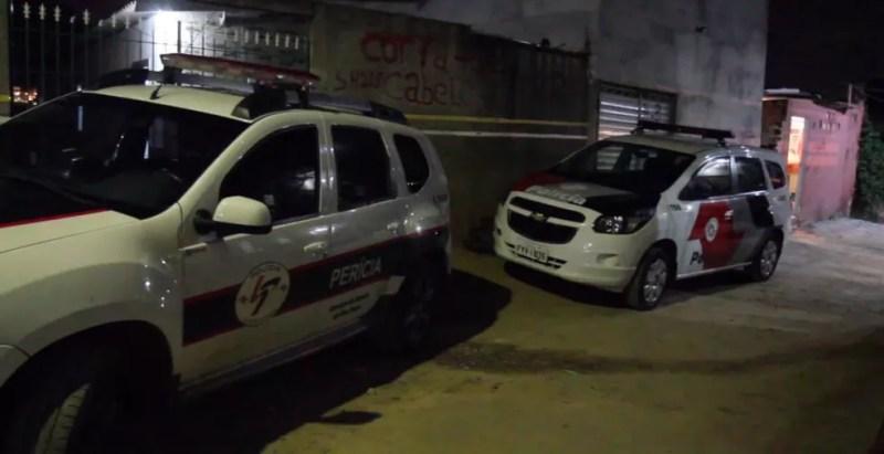 Perícia foi acionada ao local do crime — Foto: Luciano Claudino/Código19