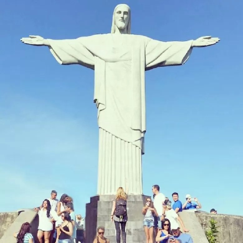 Cristo Redentor (FOTO: ARQUIVO PESSOAL/MEGAN SULLIVAN)