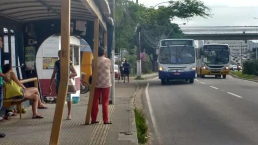 Ônibus em Natal, RN — Foto: Igor Jácome/G1