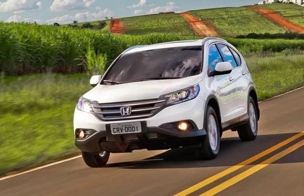 Honda CR-V Flex 2013 (Foto: Divulgação)