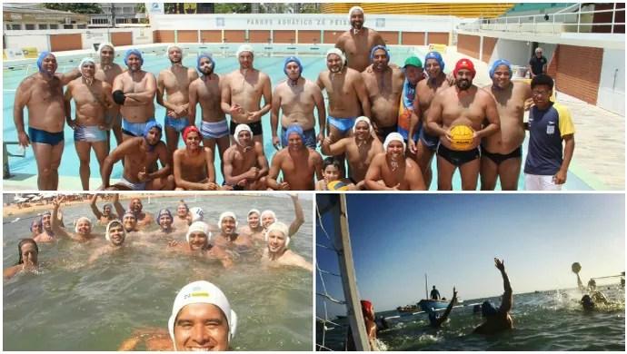 Polo aquático sergipano (Foto: Arte/GloboEsporte.com)