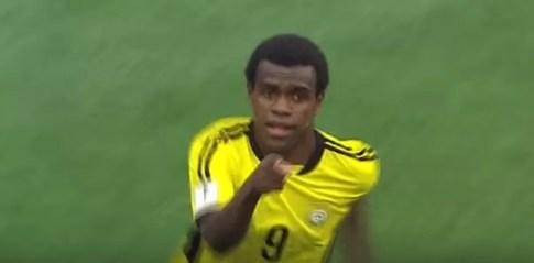 Ronaldo Wilkins, da seleção de Vanuatu (Foto: Reprodução)