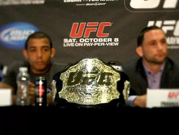 cinturão José Aldo Frankie Edgar UFC (Foto: Getty Images)