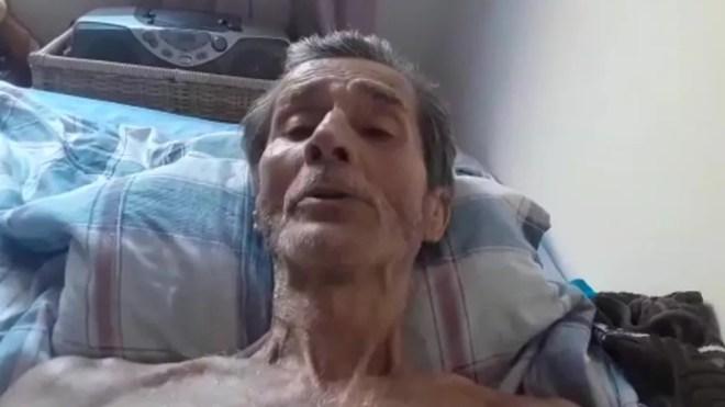 Carlos Augusto gravou último pedido de socorro  — Foto: Reprodução/TV Globo