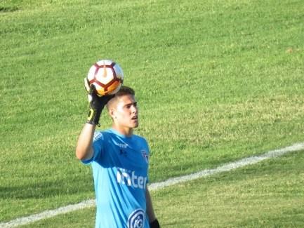 Júnior em ação pelo São Paulo no duelo com o Talleres (Foto: Felipe Schmidt)