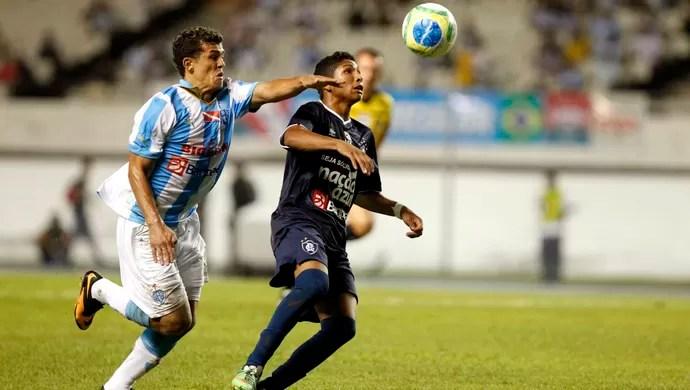 Ricardo Capanema e Rony - Paysandu e Remo (Foto: Akira Onuma/O Liberal)