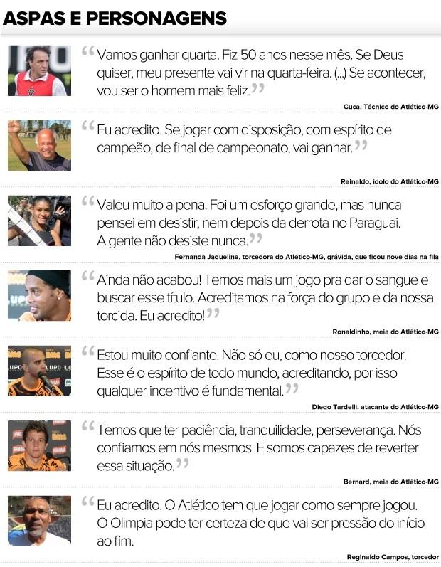 Aspas e Personagens Atlético-MG (Foto: Editoria de arte / Globoesporte.com)