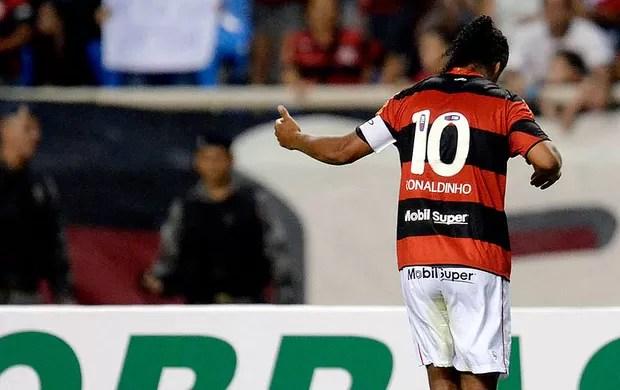 ronaldinho gaucho flamengo gol internacional (Foto: Alexandre Loureiro / Vipcomm)