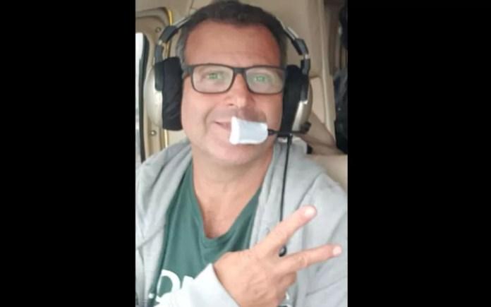 O piloto Ronaldo Quattrucci morreu no acidente que também matou o jornalista Ricardo Boechat — Foto: Reprodução/Redes sociais