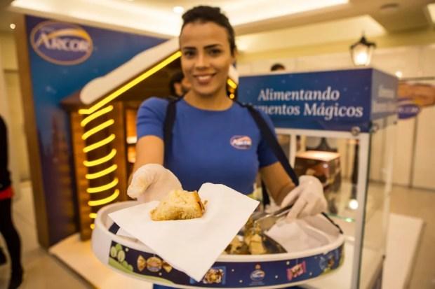 Aposta da Arcor é investir cada vez mais nos panetones recheados — Foto: Fabio Tito/G1
