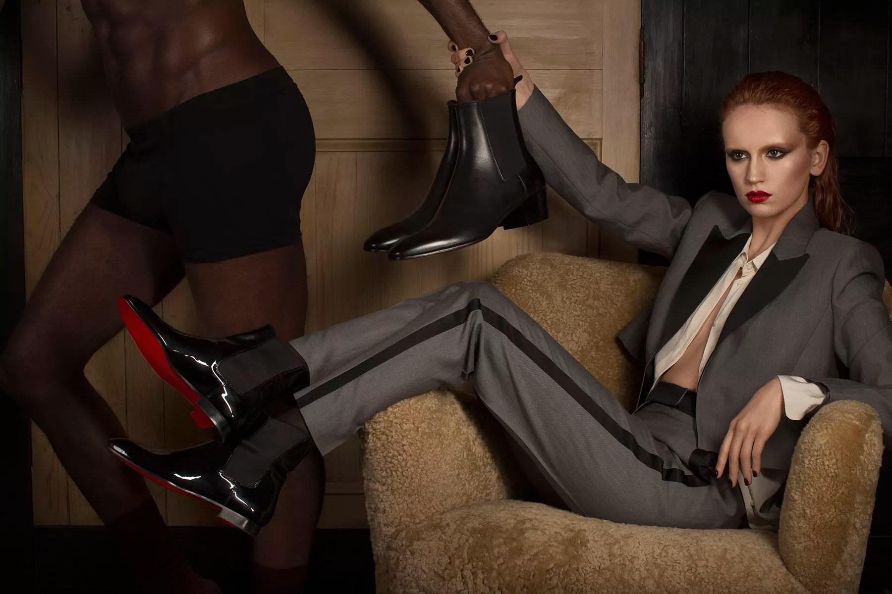 Christian Louboutin lança coleção inspirada em sapatos masculinos (Foto: Divulgação)