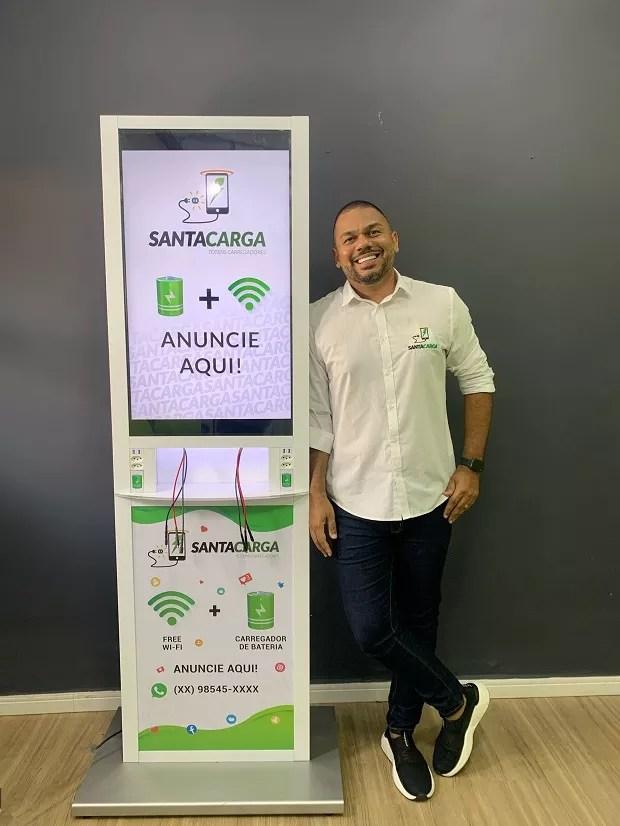 Rafael Soares, fundador da Santa Carga (Foto: Divulgação)
