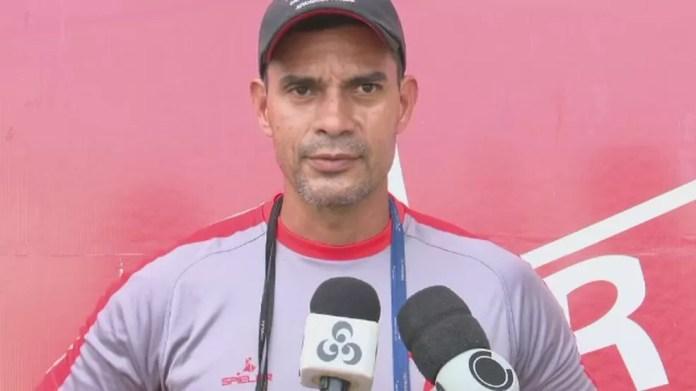 Jader de Andrade, técnico do Rio Branco-AC  (Foto: Reprodução/Rede Amazônica Acre)