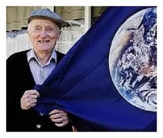 John McConnell, ativista da paz, criador do Dia da Terra (Reprodução/Wikipedia) (Foto: John McConnell, ativista da paz, criador do Dia da Terra (Reprodução/Wikipedia))