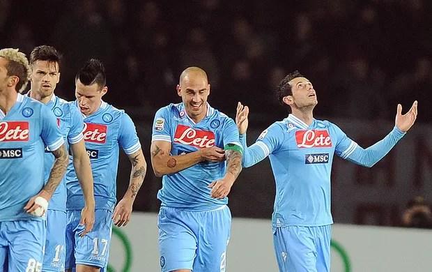 Blerim Dzemaili gol Napoli Torino (Foto: EFE)