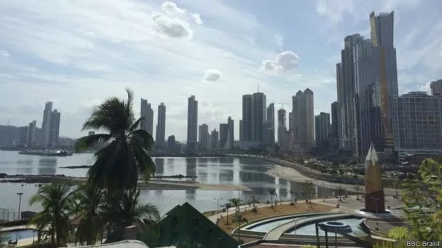 Boom imobiliário é um dos trunfos panamenhos em disputa por rota interoceânica (Foto: BBC Brasil)