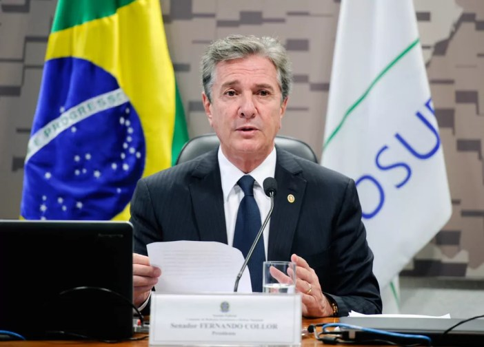 Fernando Collor (PTC) (Foto: Edilson Rodrigues/Agência Senado/Arquivo)